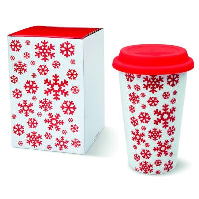 Image of Promotional Christmas Travel Cup