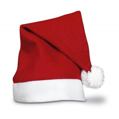 Image of Printed Santa Hats, Traditional Budget Christmas Santa Hats