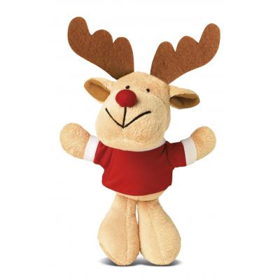 Image of Promotional Christmas Reindeer Soft Toy
