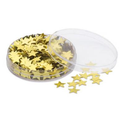 Image of Promotional Christmas Stars Box - Gold, Brand Xmas Table Decorations