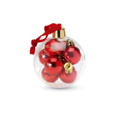 Image of Promotional Jumbo Christmas Bauble With Mini Baubles
