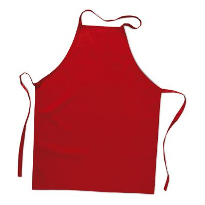 Image of Promotional Red Apron Printed with your logo