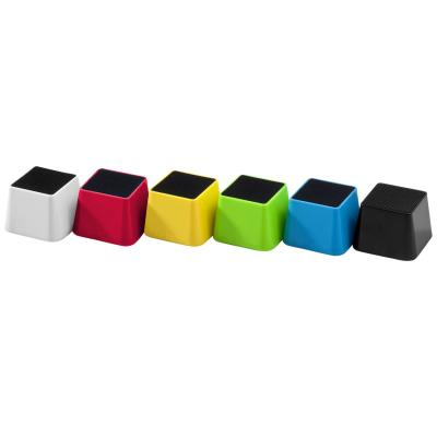Image of Branded Mini Square Pod - Wireless Speaker comes in a choice of vibrant colours