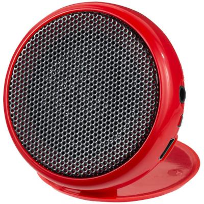 Image of Printed Foldable Speaker in Red - Pollux Portable Speaker