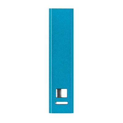 Image of Promotional Aluminium Powerbank - Classic Power Tower in BLUE
