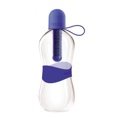 Image of Custom Printed Bobble Bottle - Dark Blue Water Filtering Bobble Bottle