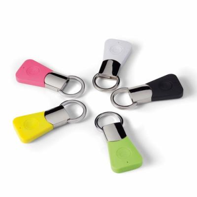 Image of Promotional Colourfull Bluetooth Selfie Remote Button Keyring - Supplied in a window gift box