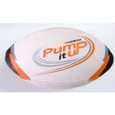 Image of RUBBERISED MINI SIZE RUGBY BALL - Match ready quality