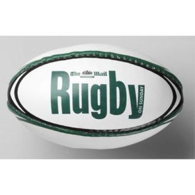 Image of PROMOTIONAL MINI LEATHERLOOK RUGBY BALLS