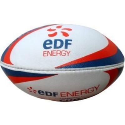 Image of MINI PRINTED RUGBY BALL - Promotional Printed Rugby Balls (Mini)