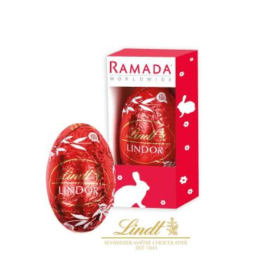 Image of Promotional Printed Boxed Lindor Lindt Chocolate Easter egg