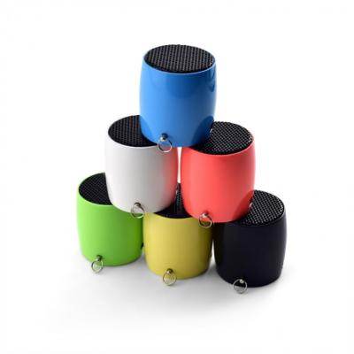 Image of Promotional Smart Speaker Wave - Value Mini Printed Speakers BLACK, WHITE, BLUE, YELLOW, RED GREEN