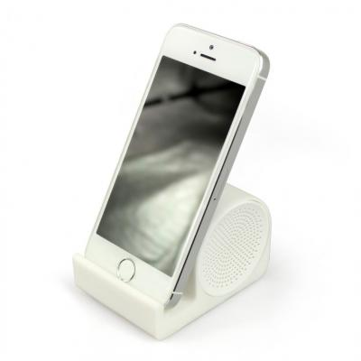 Image of Promotional Smart Speaker Stand Soft Touch Silicone Surface