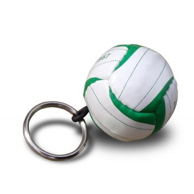 Image of Promotional Football Keyring - Football Keyring Printed with your logo