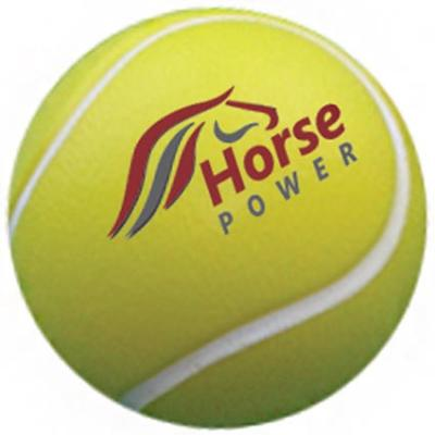 Image of Promotional Stress Tennis Ball - Printed