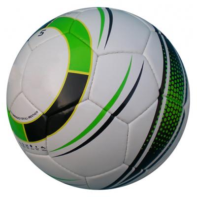 Image of Printed Full Size 5 Footballs - Match Ready PVC Footballs