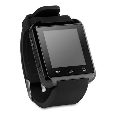Image of Branded Smart Watch with Silicone Strap - Functional Smart Watch in Black