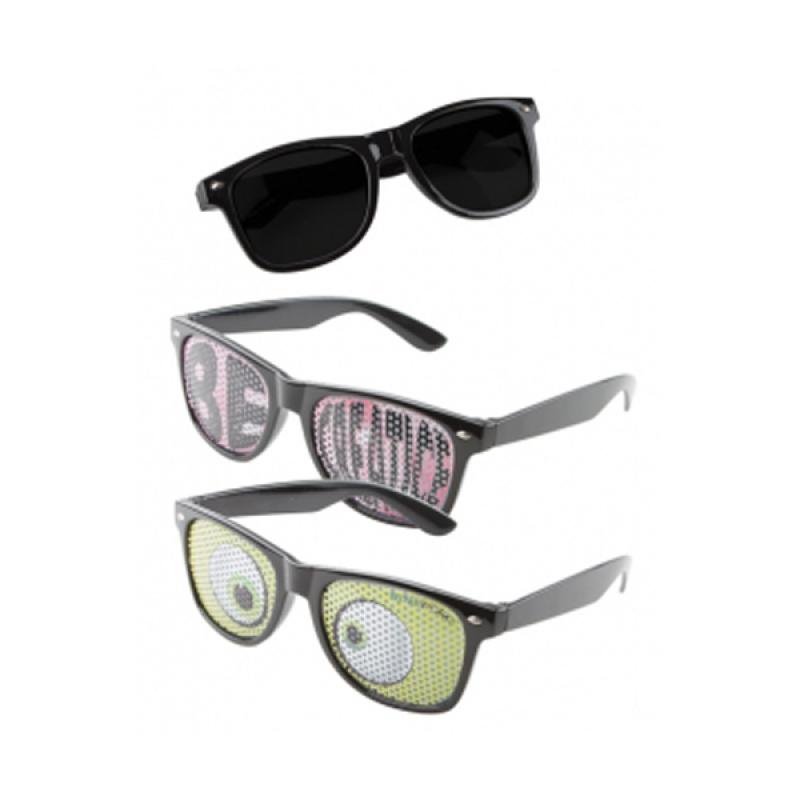 9181130eca5b Printed Logo Lens Sunglasses with Full Colour Custom Lenses :: Full ...