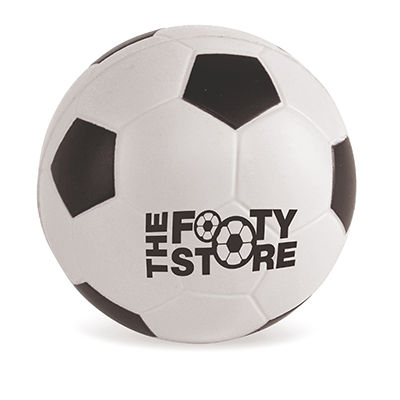 Image of Printed Football Stress Balls - White and Black