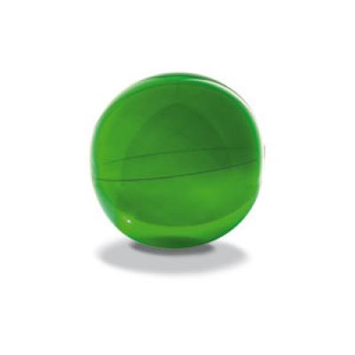 Image of Printed Beach Ball. Promotional Inflatable Beach Ball. Green