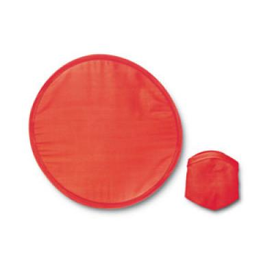 Image of Express Printed Frisbee. Promotional Foldable Frisbee.Red.