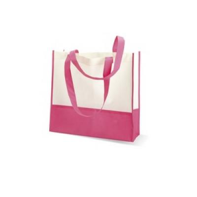 Image of Promotional Beach Bag. Printed beach Bag. Express Available. Beach Bag Pink.
