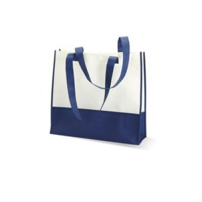 Image of Promotional Beach Bag.Printed Summer Beach Bag Available In A Variety Colours. Printed Blue Beach Bag.