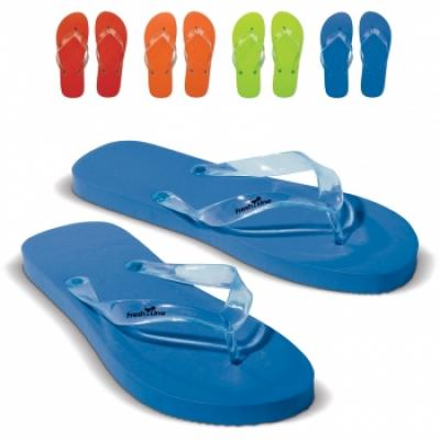 Image of Promotional Flips Flops.Printed Summer Flip Flops. Men And Ladies Sizes Available.