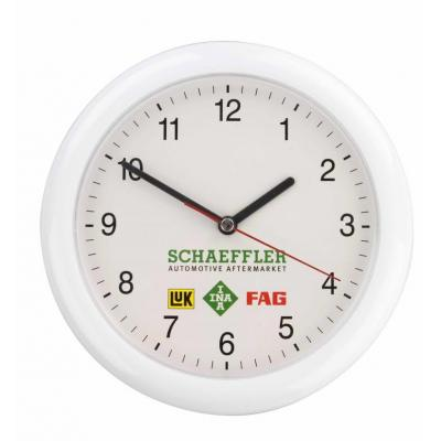 Image of Promotional Denver Wall Clock. Custom Printed Wall Clock