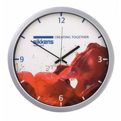 Image of Branded Washington Wall Clock. Printed Wall Clock.
