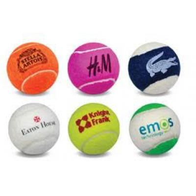 Image of Promotional Tennis Balls. Printed Tennis Balls Available In A Variety Of Colours.