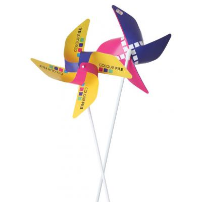 Image of Promotional Windmills. Printed Hand Held Windmills. Fun Summer Item