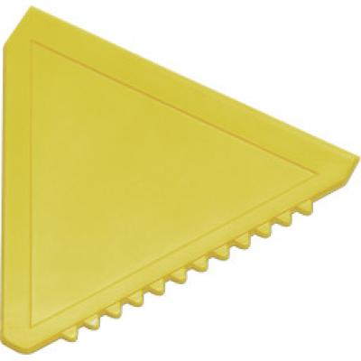 Image of Branded Triangular Plastic Ice Scraper. Promotional Triangle Shaped Ice Scraper. Available In Various Colours.