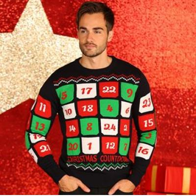 personalised knitted christmas jumpers