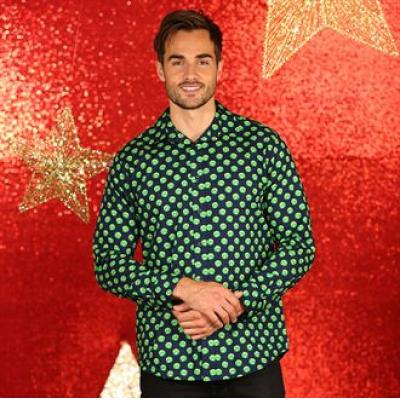 Image of Printed Christmas Shirt. Promotional Sprouts Xmas Shirt