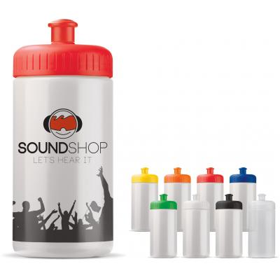 Image of Promotional 500 ml Sports Bottle. BPA and Leak Free Sports Bottle