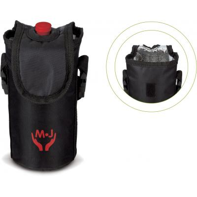 Image of Promotional Cool Bag For 500 ml Sports Bottle. Insulated Bag For Sports Bottle