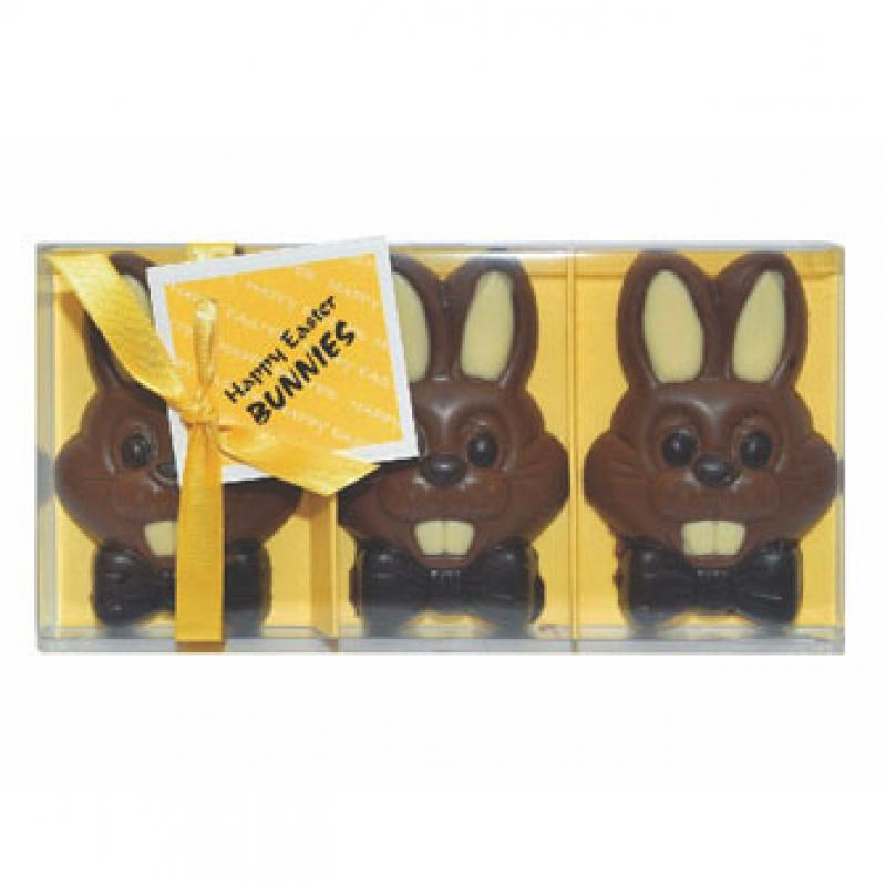 Branded chocolate easter bunnies gift boxed luxury milk chocolate branded chocolate easter bunnies gift boxed luxury milk chocolate bunnies negle Images