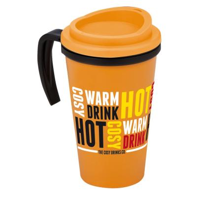 Image of Printed Americano Granda Thermal Mug. Available In A Vast Array Of Colours.