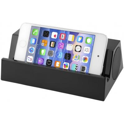Image of Promotional Blare Bluetooth® Speaker With Stand For Docking