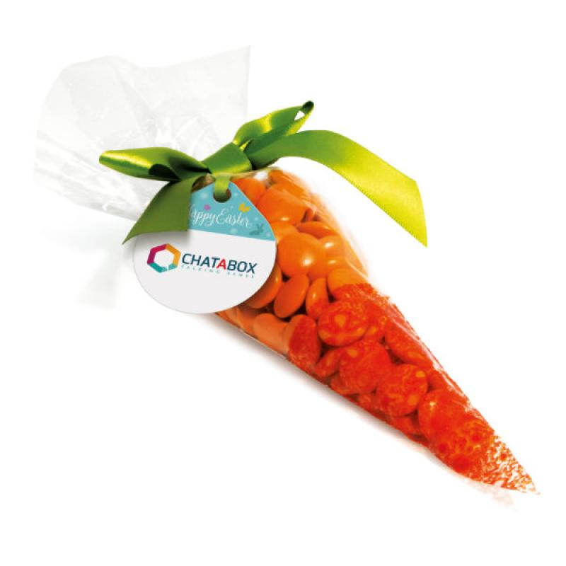 Promotional easter novelty carrot bag filled with chocolate beanies promotional easter novelty carrot bag filled with chocolate beanies negle Gallery