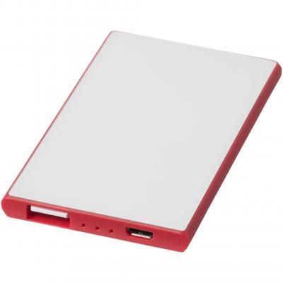 Image of Promotional Slim Credit Card Power Bank 2000 mAh.