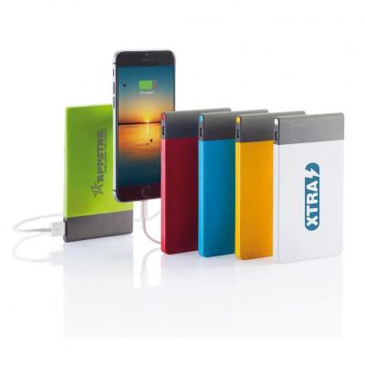 Image of Branded Thin Credit Card Sized Power Bank 4600 mAh