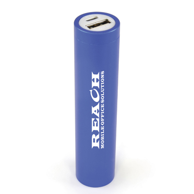 Image of Engraved Aluminium Power Bank. Promotional Cylinder Powerbank. Express Service