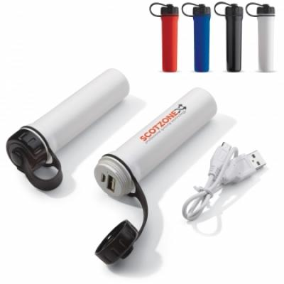 Image of Printed Waterproof Powerbank 2200mAh. Promotional Portable Charger