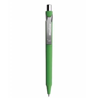 Image of Promotional Prodir DS10. High Quality Pen With Soft Touch. Green