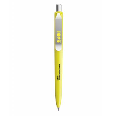 Image of Promotional Prodir DS8 Metal Clip In Matt Neon Yellow