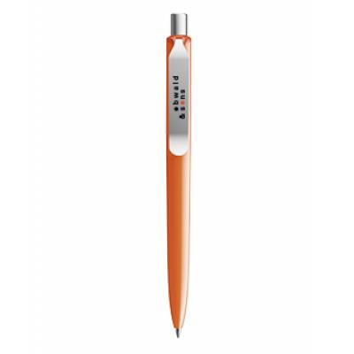 Image of Promotional DS8 Metal Clip In Polished Orange. Mix And Match Colours Available