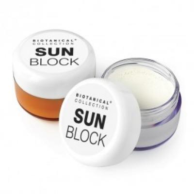 Image of Promotional Sun Lotion In Pocket Size Jar, Sun Screen with Full Colour Print, Made In UK