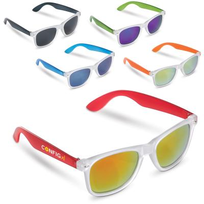 Image of Printed Trendy Sunglasses With Coloured Lens.